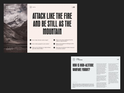 H-AW Content 01 article grid layout web design typography