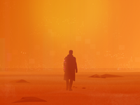 Blade Runner 2049 Teaser Illustration