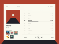 009 Daily Ui Challenge   Music Player