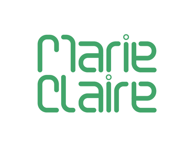 Logo green wired iconic claire marie logo