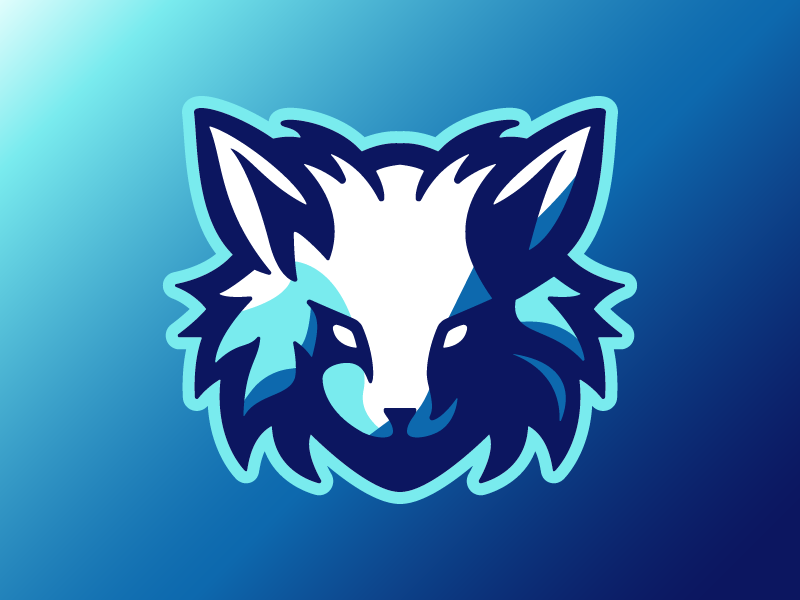 Arctic Fox Mascot Logo design illustration mascot esports logo