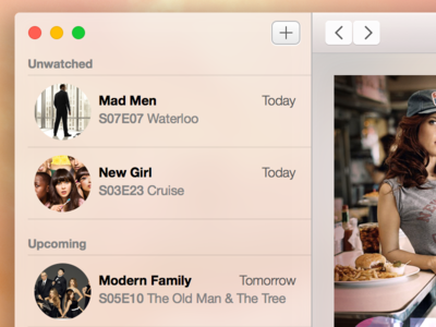 Cold Open TV Shows for Mac