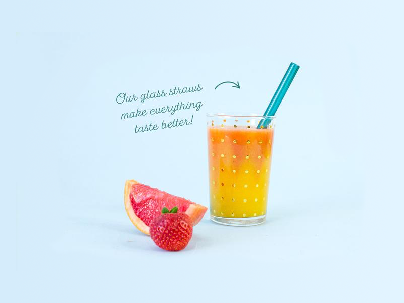 Hummingbird Straws Art Direction photoshoot smoothies art direction branding