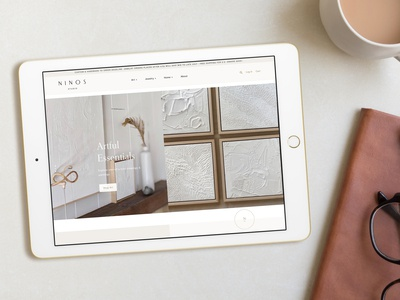 Ninos Studio Website Design