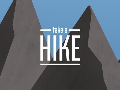 Take A Hike (wallpaper)