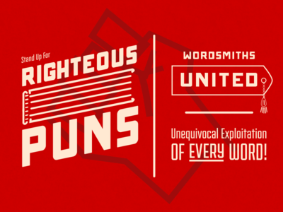 Righteous Puns! II righteouspuns puns book bookmark wordsmith word propaganda