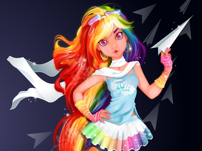 MY MLP: Rainbow Dash