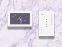 enver · visual identity · business cards