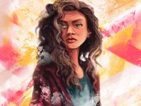 Zendaya portrait