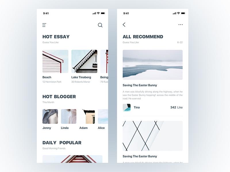 Hello dribbble white clean design app shot first dribbble hello