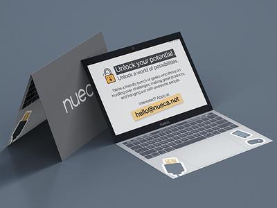 Tech Applicant Invite [Concept] card design invite design application design concept design concept art concept