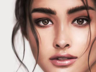 Liza Soberano - Digital Painting illustration portrait procreate digital painting