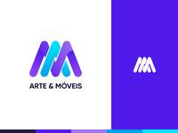 Arte & Móveis Logo
