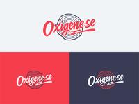Oxigene-se Lettering Logo