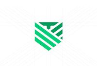 T+V Logo Monogram
