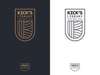 Kick's Library NYC Logo