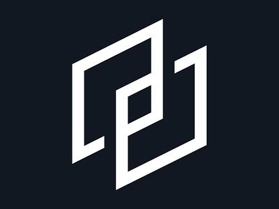 A+P Logo cube monogram design logo branding