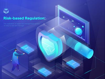 Risk security management platform risk cloud bigdata 2.5d