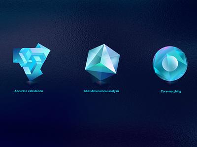Practice 11 icon platform illustration bigdata financial 2.5d