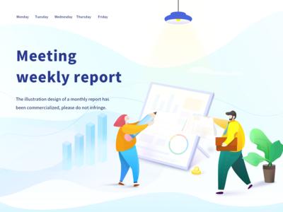 Meeting  weekly report