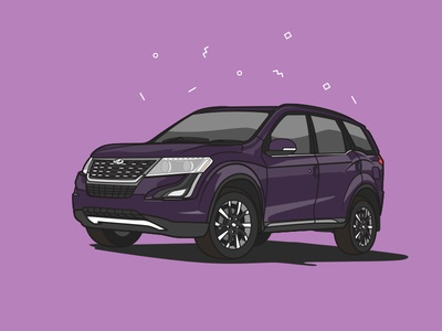 Mahindra XUV 500 illustration