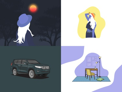 Check out my #Top4Shots on @Dribbble from 2018