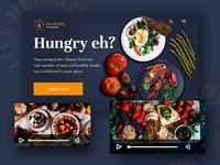 Live Healthy Website Mocktup