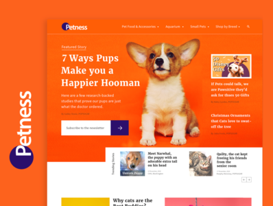 Petness. A pet blogging site for all things pets.