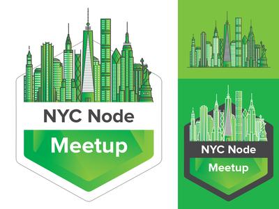 NYC Node Meetup Group Symbol | Mascot Logo