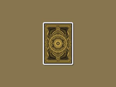 BONGDZI Playing Cards - Back Design