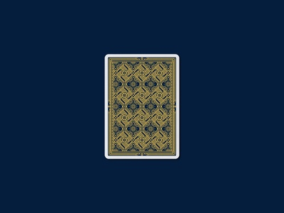 DZI Playing Cards - Back Design