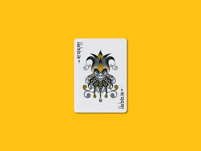 DZI Playing Cards - Joker Design