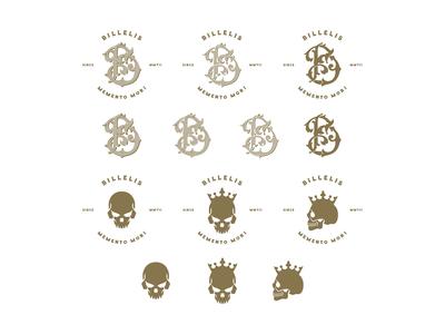 Billelis Monogram & Skull Logos