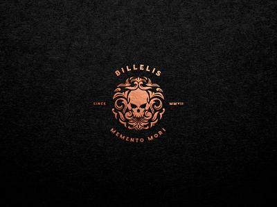 Billelis Skull Logo