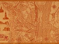 Old town alexandria   virginia   map