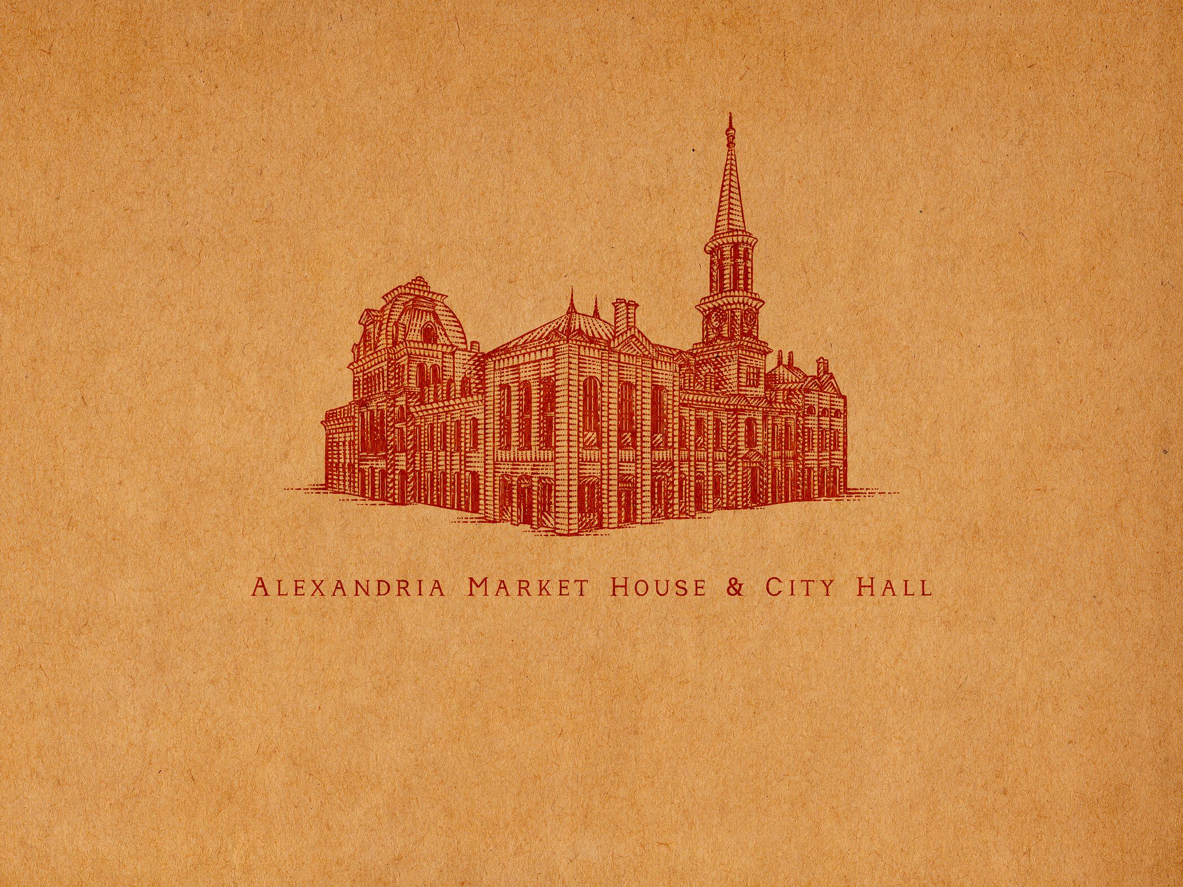Alexandria market house and city hall