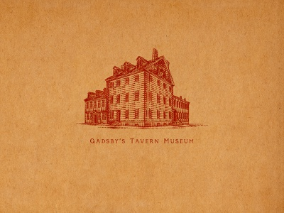 Gadsby's Tavern Museum gadsbys tavern museum tuyetduyetstudio tuyetduyet vintage illustration traditional illustration handcrafted unique handcrafted illustration traditional unique typography decorations ornaments hand lettering flourishes elements sporthealth old town old town alexandria virginia