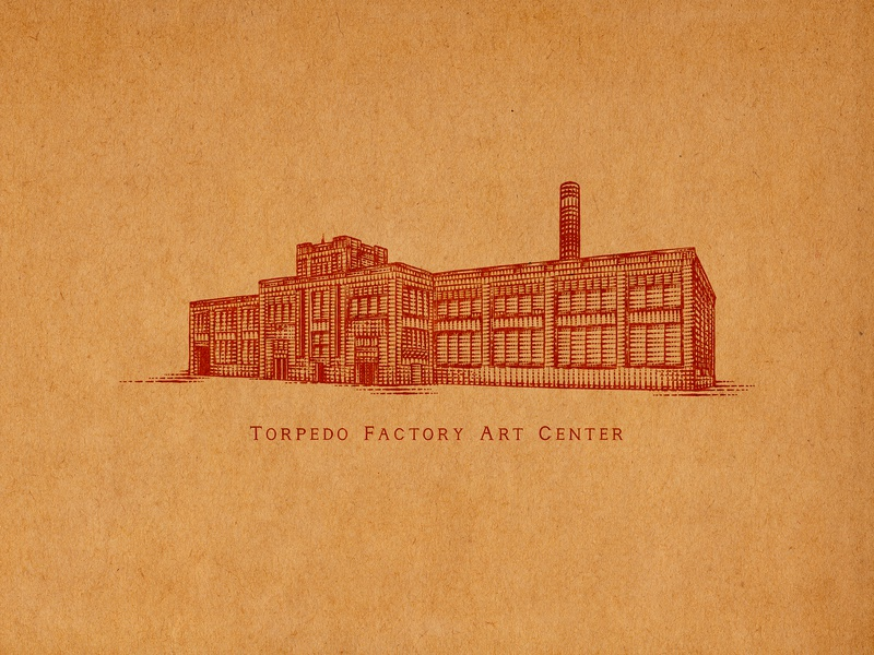 Torpedo Factory Art Center old town virginia old town alexandria sporthealth old town elements flourishes hand lettering ornaments decorations typography unique traditional unique handcrafted illustration handcrafted traditional illustration illustration vintage tuyetduyet tuyetduyetstudio torpedo factory art center