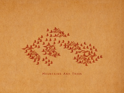 Mountains And Trees
