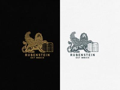 Rubenstein Lion Logo