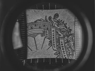 Pedantics Business Cards illustration branding tuyetduyet tuyetduyetstudio unique handcrafted illustration pedantics handmade journals stationery est 2019 typogaphy vintage traditional branding design logo design print monogram design print design monogram logo graphic design