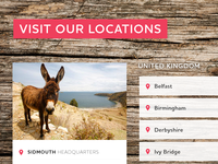 Locations browser