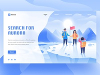 Search For Aurora web page