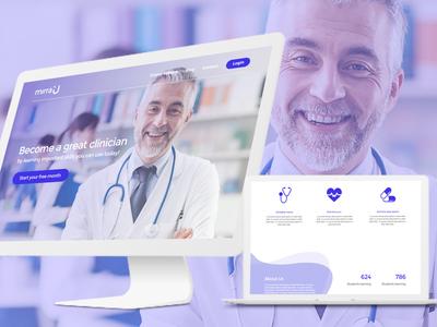 Mirrau Web UI - Udemy for doctors