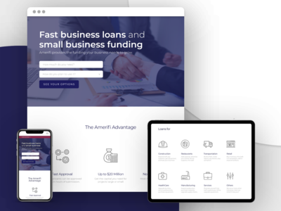 Amerifi - Responsive Website