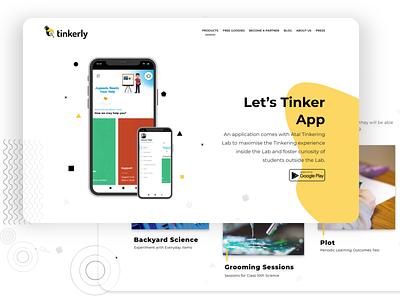 Tinkerly india uidesign uiuxdesigner uiux design webapplication webapp design webdesign startups