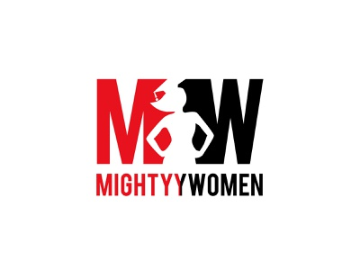 Logo for Mighty women adarshthambi minimal mw law women empowerment logo