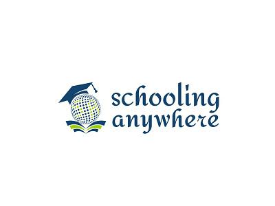 logo for Schooling Anywhere branding adarshthambi school education icon vector minimal logo