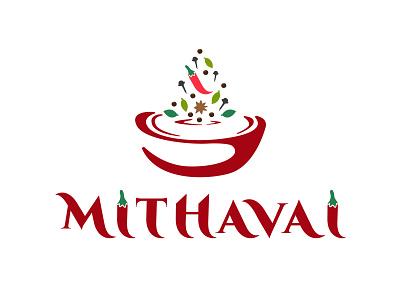 Logo design for mithavai adarshthambi art illustration foodlogo spices masala food branding logo
