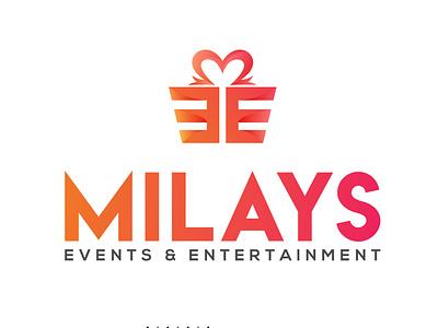 Logo for event and entertainment company adarshthambi branding vector illustration minimal logo